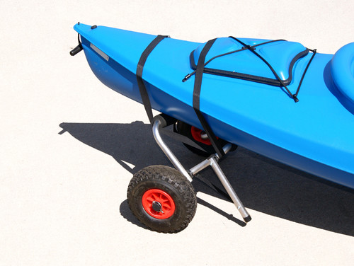 best way to transport a kayak to the beach