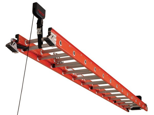 ceiling ladder rack