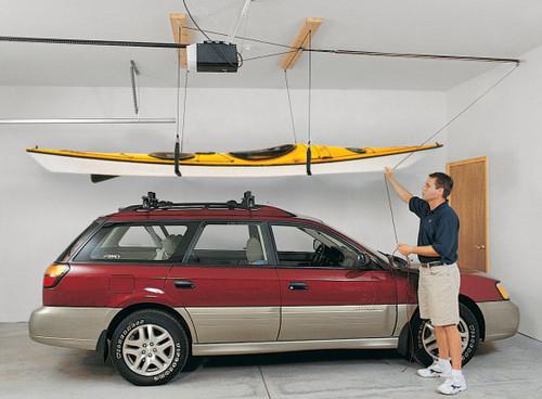 Suspenz Ceiling Hoist For Kayaks And Canoes