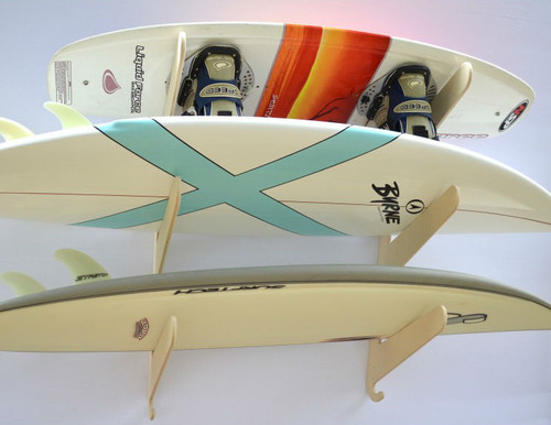 surfboard rack with adjustable width