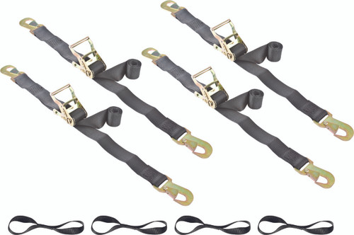 snap hook ratchet tie down straps