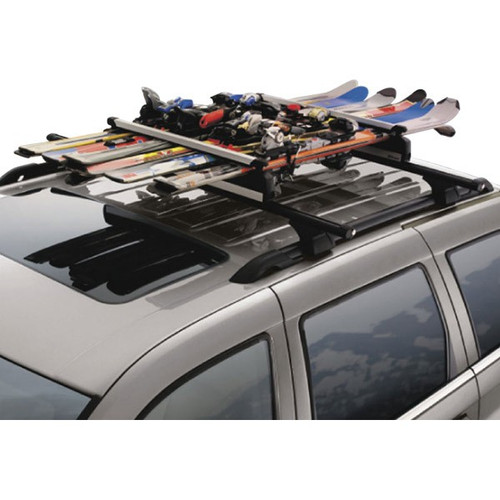 SUV snowboard roof rack