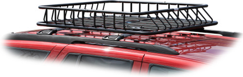SUV roof basket