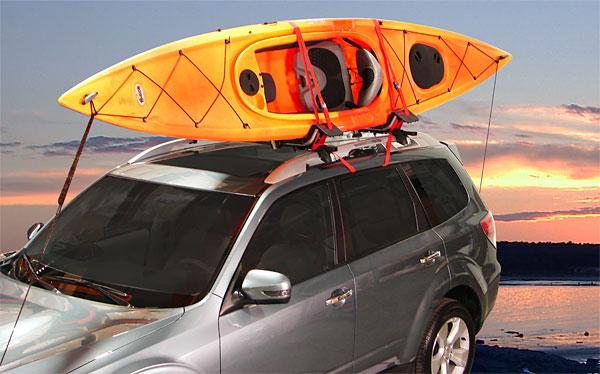 Roof Rack That Carries Sit Inside Kayaks