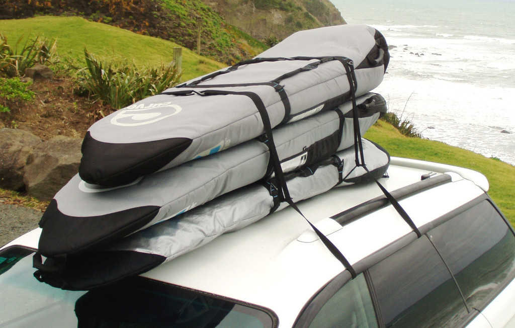 Charming Surfboard Travel Car Racks