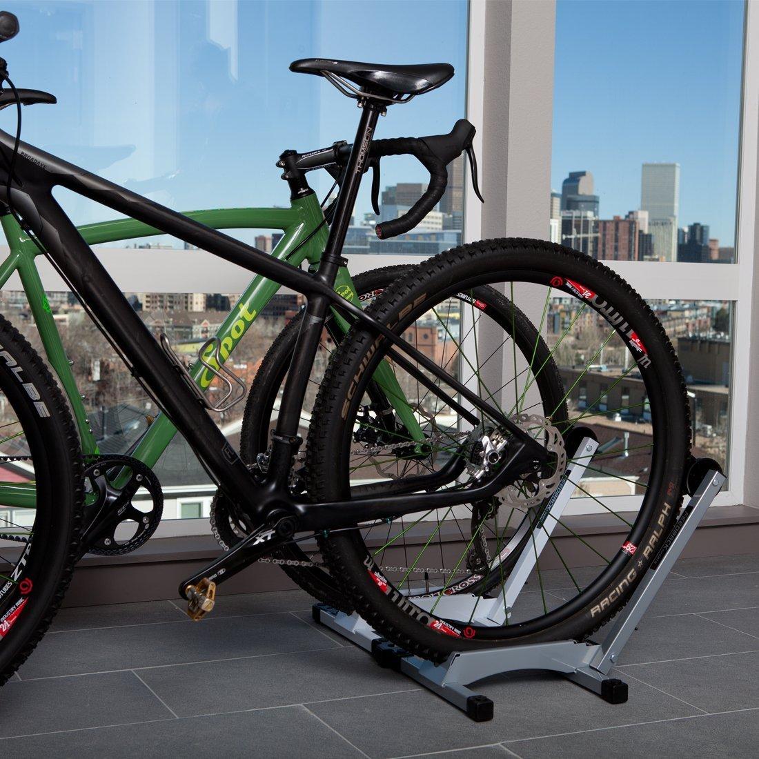 Freestanding Bike Storage And Display Stand