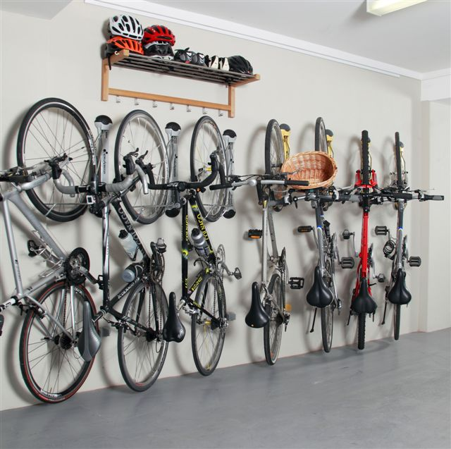 Fender Bike Wall Rack Swivel Vertical Storage Mount