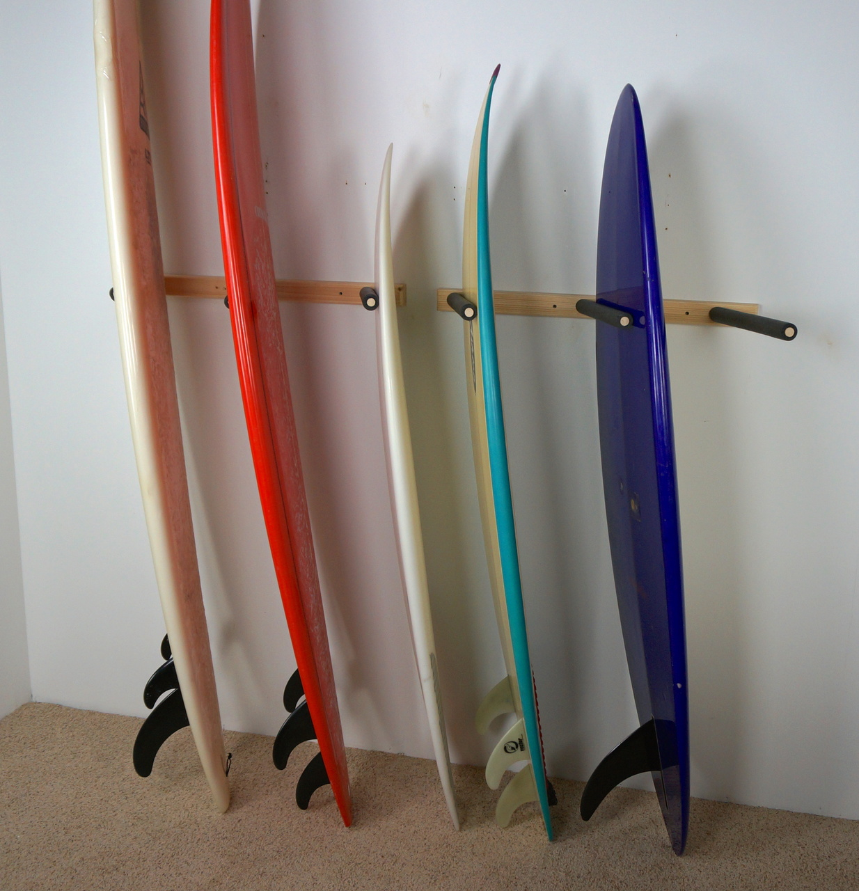 Surf Storage Garage Surfboard Rack