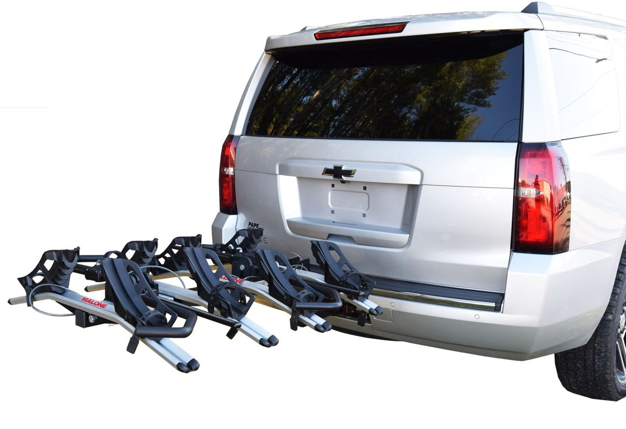 4 Bike Tray Style Car Rack Hitch Mounted From Malone