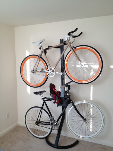 Free Standing Bike Rack 2 Bikes