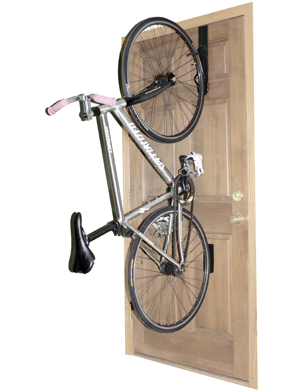 Apartment Door Bike Rack | Removable - StoreYourBoard.com
