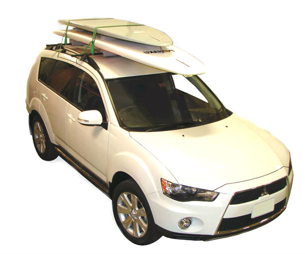 Captivating Sup Roof Rack Holds Two SUPs