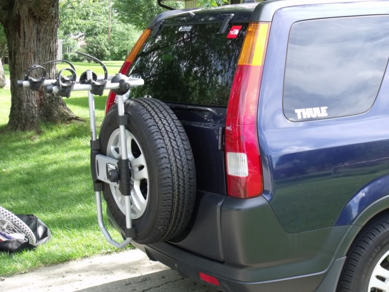 Thule Spare Me Spare Tire Mounted Bike Rack