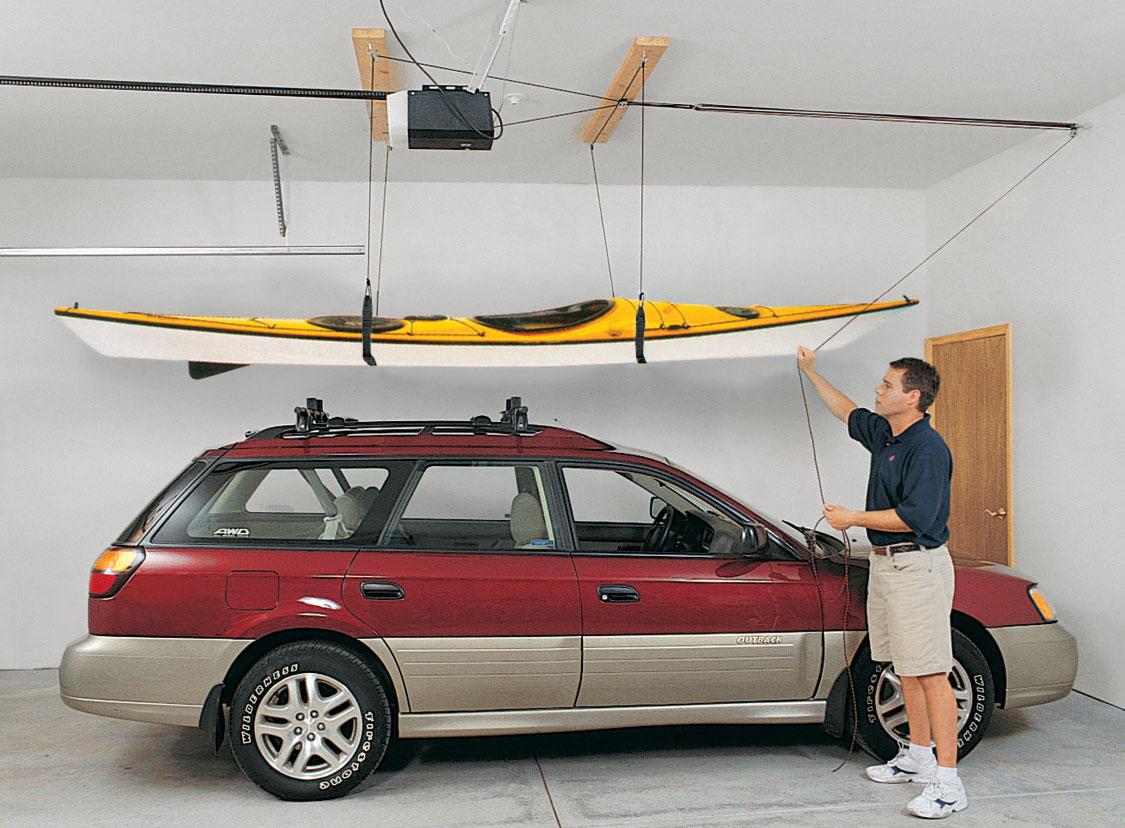 Premium Kayak Hoist Overhead Kayak Lift Kit