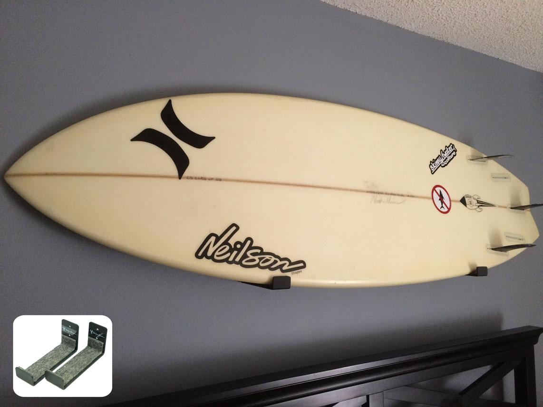Naked surf minimalist surfboard rack storeyourboard hidden surfboard rack amipublicfo Images