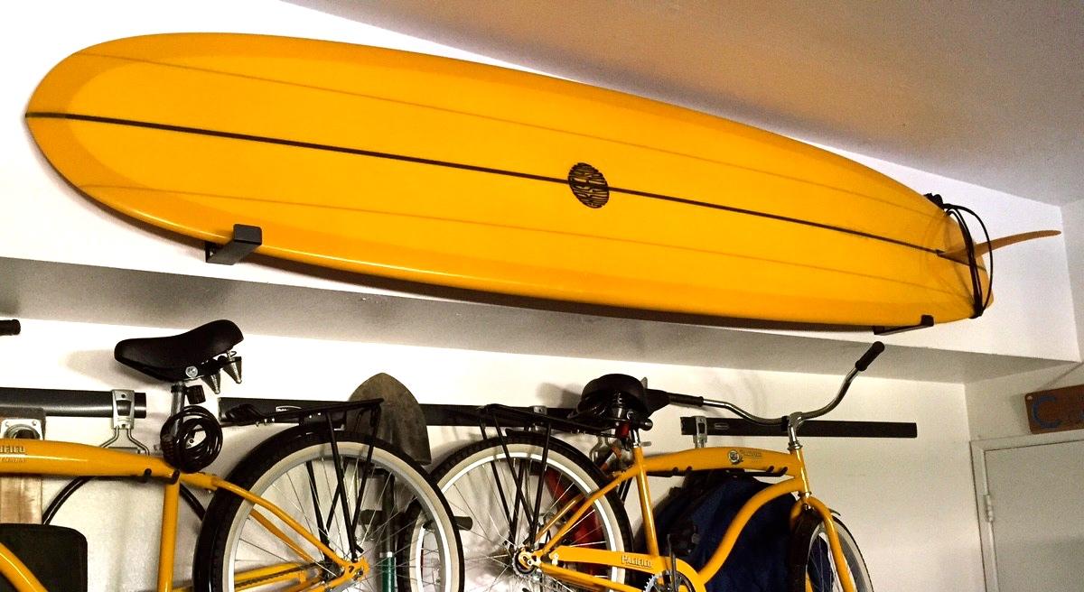 Naked surf minimalist surfboard rack storeyourboard garage surfboard wall rack amipublicfo Images