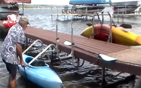 Best Outdoor Kayak Storage Rack