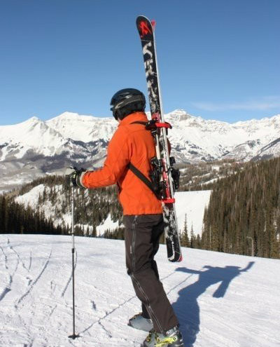 Ski Backpack Carry Straps | Mountain Goat Tote