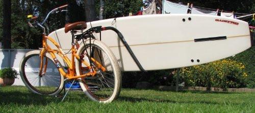 Longboard Surfboard Bike Rack