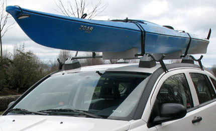 Soft Kayak Roof Rack Universal Kayak Carrier