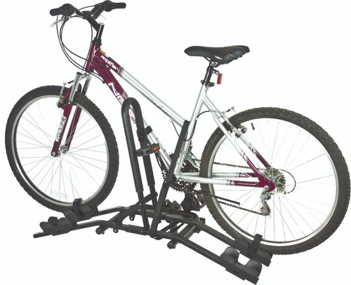 Compact 2 Bike Hitch Rack Wheel Mount Carrier