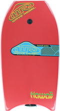 "Wave Rebel - Rebel Hawaii 39"" Red Bodyboard"