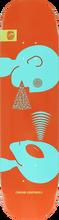 Alien Workshop - Mind Control Sm Deck-7.87 Red/lt.blue (Skateboard Deck)