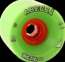 Abec 11 - Bigzig Hd 75mm 74a Lime/org (Wheels - Set Of Four)