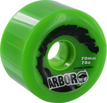 Arbor - Biothane 70mm 78a Green (Wheels - Set Of Four)