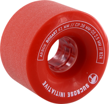 Arbor - Bogart 61mm 82a Red (Wheels - Set Of Four)
