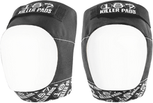 187 - Pro Knee Pads Xl-blk/wht Text/wht Cap