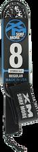 Xm - Sup Hybrid Regular Ankle Leash 8' Black