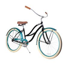 ZF Bikes - Beach Cruiser Bike - 2017 Paraiso - Black