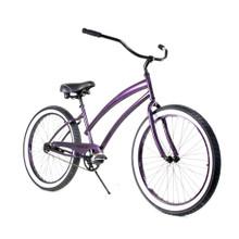 ZF Bikes - Beach Cruiser Bike - Cheetah - Purple