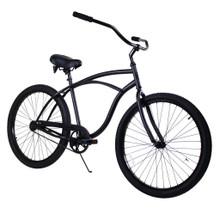 ZF Bikes - Beach Cruiser Bike - Classic - Black