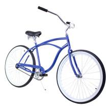 ZF Bikes - Beach Cruiser Bike - Classic - Blue