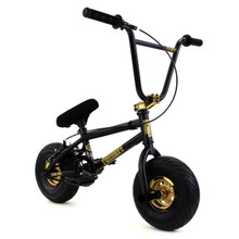 Fatboy BMX Stunt Series Bike - Mini BMX - Black Thunder