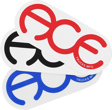 """Ace - Rings 3"""" Sticker Assorted 1pc"""