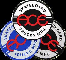 "Ace - Round Logo 4"" Sticker Assorted 1pc"