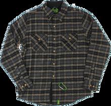 Creature - Angler L/s Button Up M-black Plaid