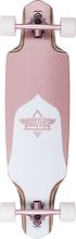 Duster - Channel Complete-9.12x34 Rose Gold/wht - Complete Skateboard