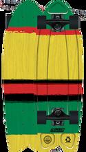 Aluminati - Rasta Paint Job Wingnut Complete-8x25.25 - Complete Skateboard
