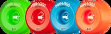 Mini Logo - A-cut Hybrid 53mm 90a Asst.grn/red/blu/org Ppp (Skateboard Wheels - Set of 4)