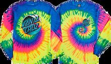 Santa Cruz - Wave Dot L/s Xl-neon Rainbow Die