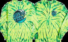 Santa Cruz - Wave Dot L/s Xl-wild Spider Green Die