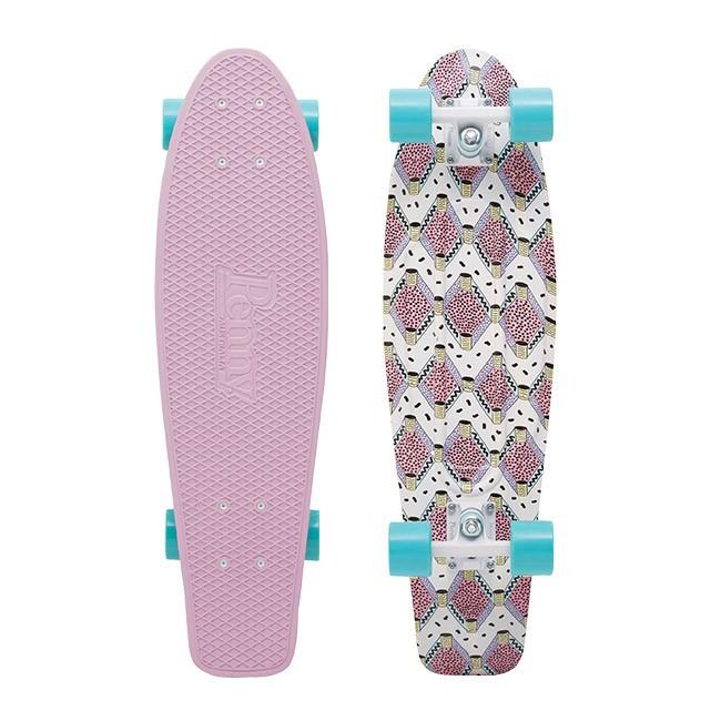 penny skateboard buffy 27 penny fresh print nickel board
