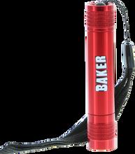 Baker - Brand Logo Mini Flashlight Red