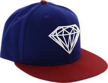 Diamond - Brilliant Hat 7 - 5 / 8 Royal / Red