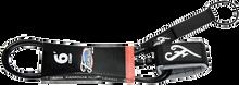 Famous - Deluxe Comp 6' Black Leash - Surfboard Leash