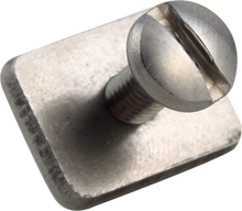 Ground and Sea - Stainless Fin Plate And Screw 1pc